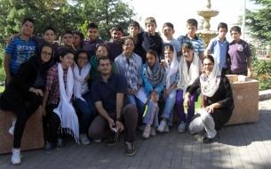Սկաուտական միութեան կրտսերների հատւածի թիւ 1 խումբի այցը Դարաբադ կենդանաբանական այգի